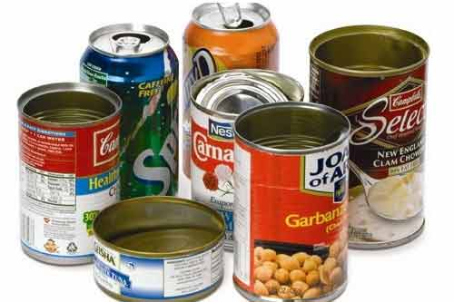 بسته بندی مواد غذایی به روش کنسرو (تاریخچه و پیشرفت)