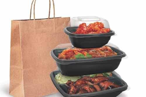 بسته بندی غذای گرم و انواع غذاهای رستورانی