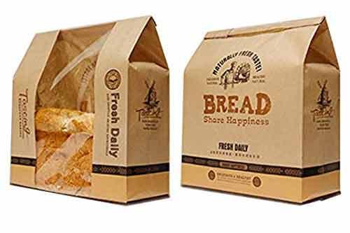 دستگاه بسته بندی نان و بسته بندی نان با پوششهای کاغذی و پلاستیکی