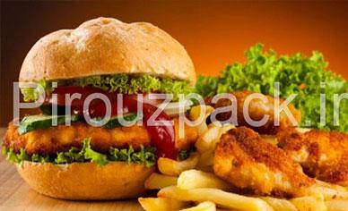 دستگاه بسته بندی همبرگر