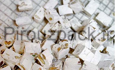 دستگاه بسته بندی گز و بسته بندی نبات