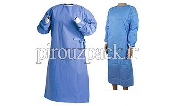 دستگاه بسته بندی لباس بیمارستانی و ملحفه بیمارستانی