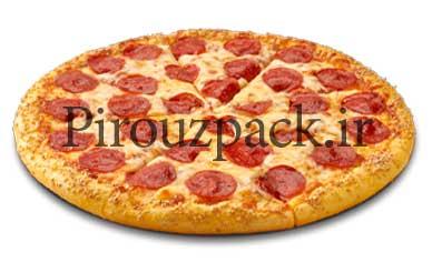 دستگاه بسته بندی پیتزا آماده